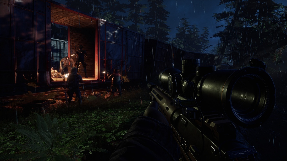 Screenshot for Earthfall on PlayStation 4
