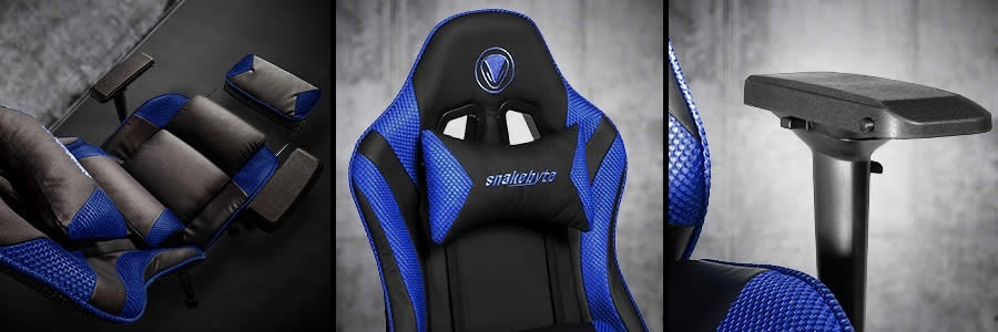 Image for Tech Up! snakebyte's Gaming:Seat Review