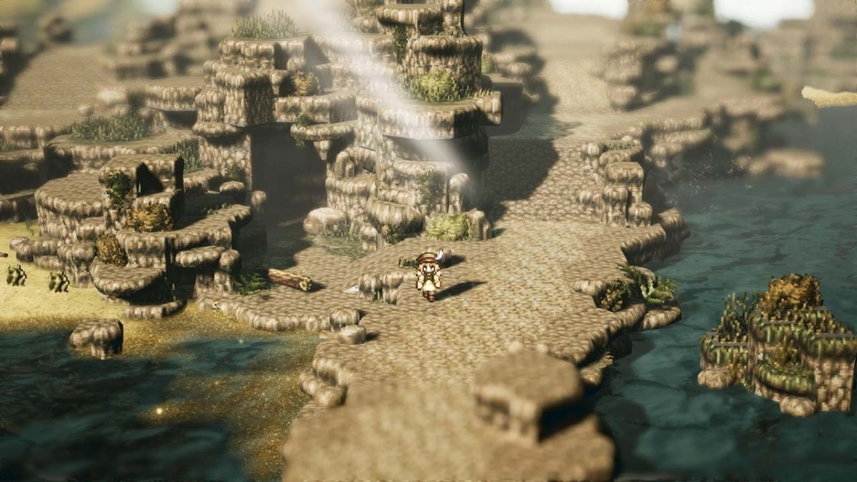 Screenshot for Octopath Traveler on Nintendo Switch