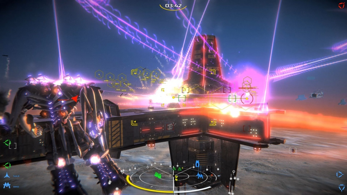 Screenshot for War Tech Fighters on PC
