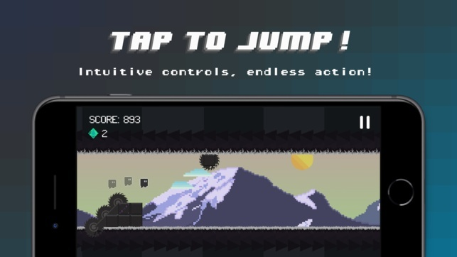 Screenshot for Gravity Dash: Endless Runner on iOS