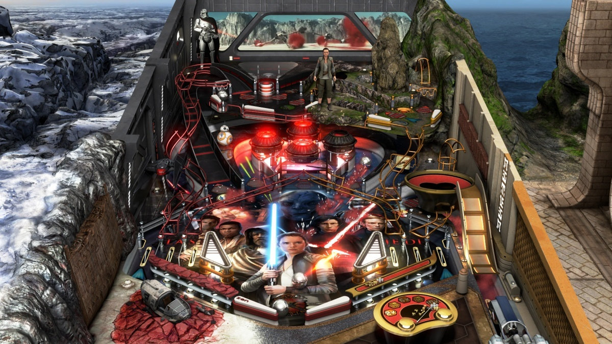 Screenshot for Pinball FX3 - Star Wars Pinball: The Last Jedi on Xbox One