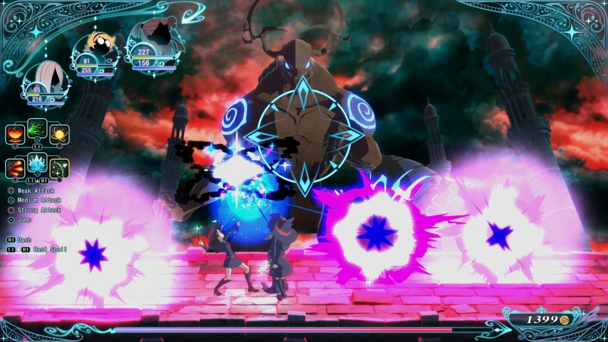 Screenshot for Little Witch Academia - Chamber of Time on PlayStation 4
