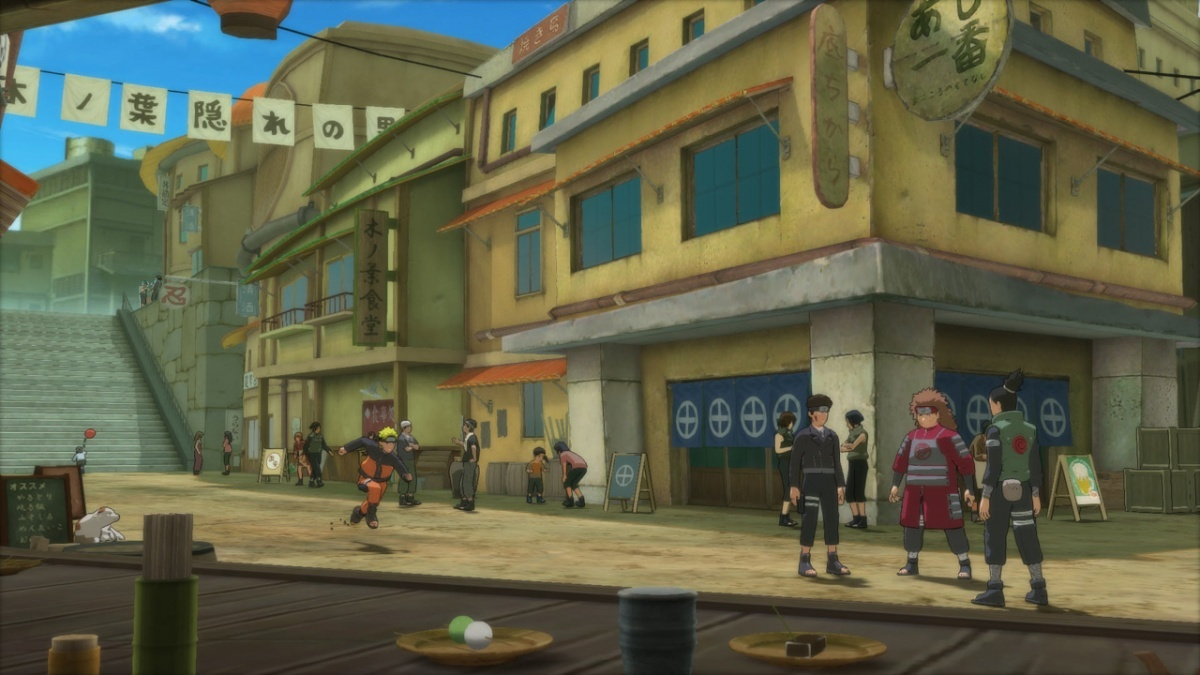 Screenshot for Naruto Shippuden: Ultimate Ninja Storm Trilogy on Nintendo Switch