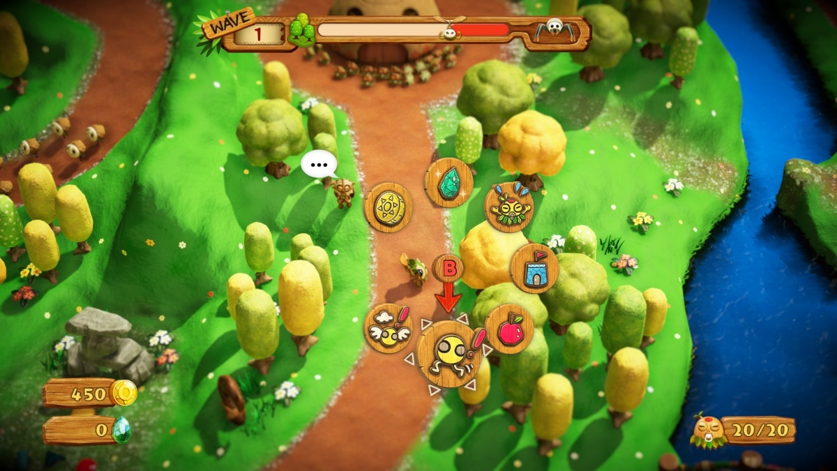 Screenshot for PixelJunk Monsters 2 on Nintendo Switch