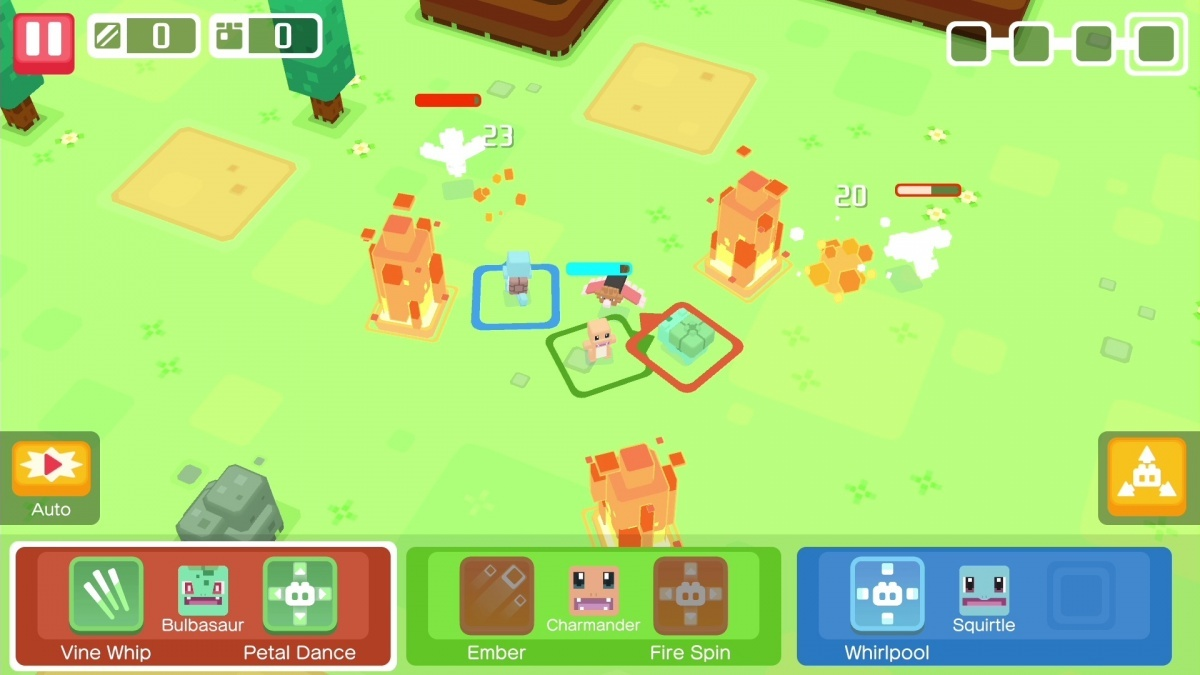 Screenshot for Pokémon Quest on Nintendo Switch