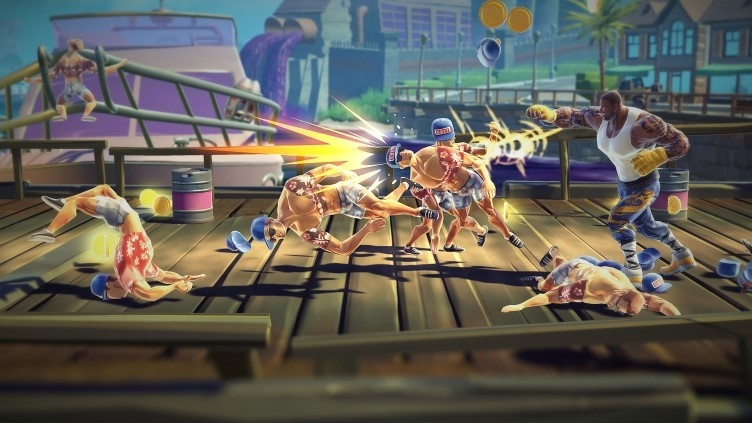 Screenshot for Shaq-Fu: A Legend Reborn on Xbox One
