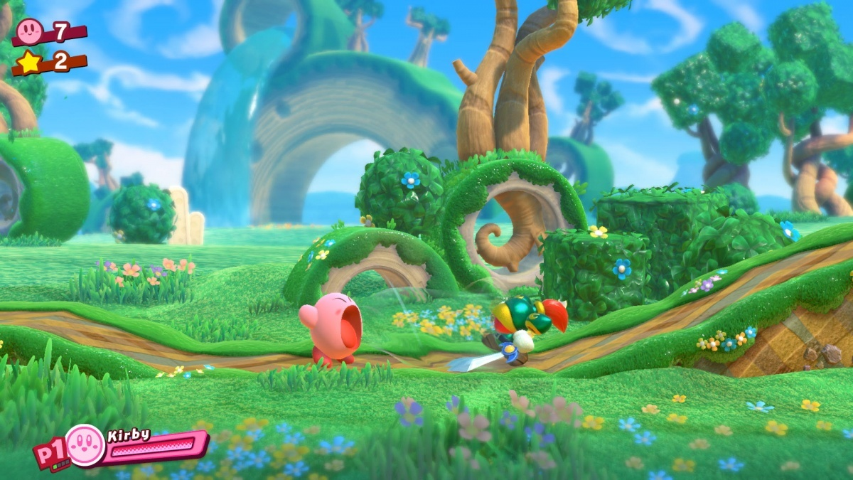 Screenshot for Kirby Star Allies on Nintendo Switch