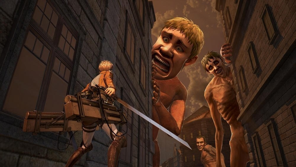 Screenshot for A.O.T. 2 (Attack on Titan 2) on Nintendo Switch