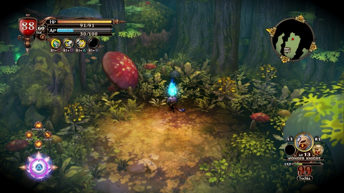 Screenshot for The Witch and the Hundred Knight 2 on PlayStation 4