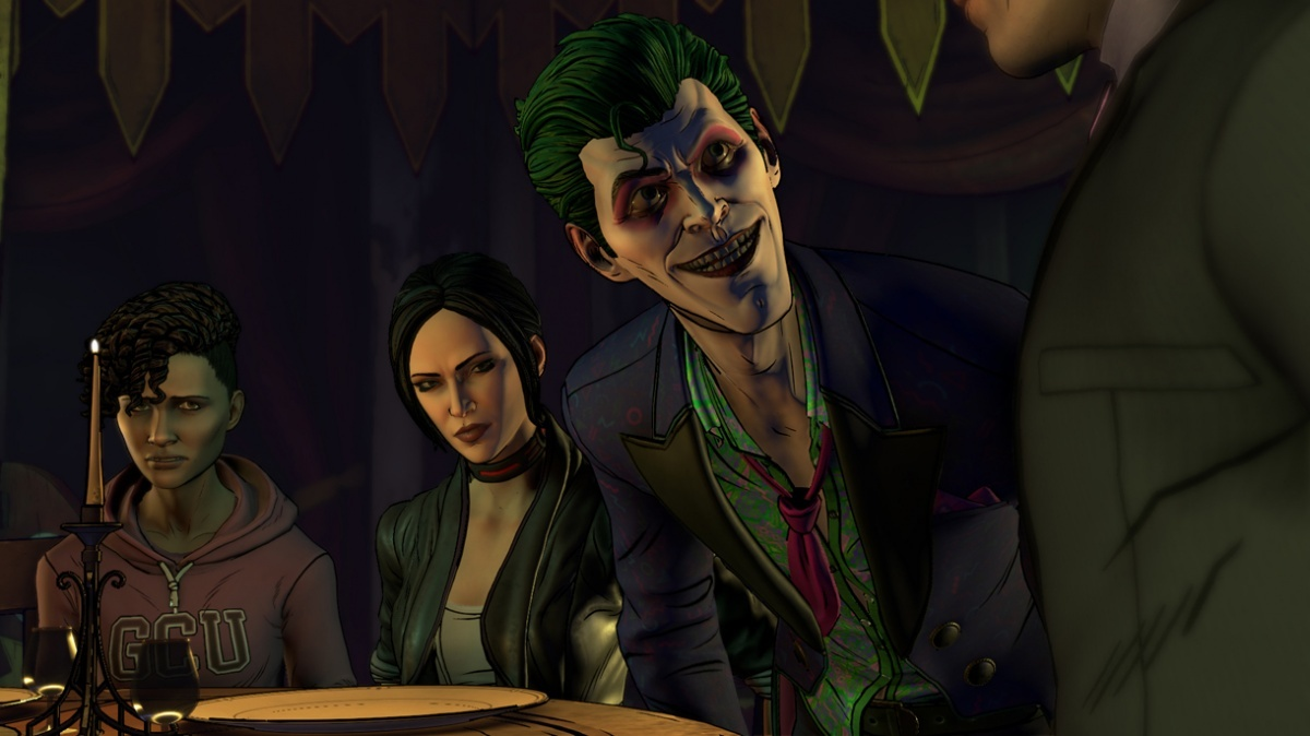 Screenshot for Batman: The Enemy Within - Episode 5: Same Stitch on PC