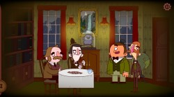 Screenshot for The Adventures of Bertram Fiddle: Episode 1: A Dreadly Business - click to enlarge