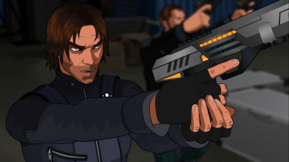 Screenshot for Fear Effect Sedna on PlayStation 4