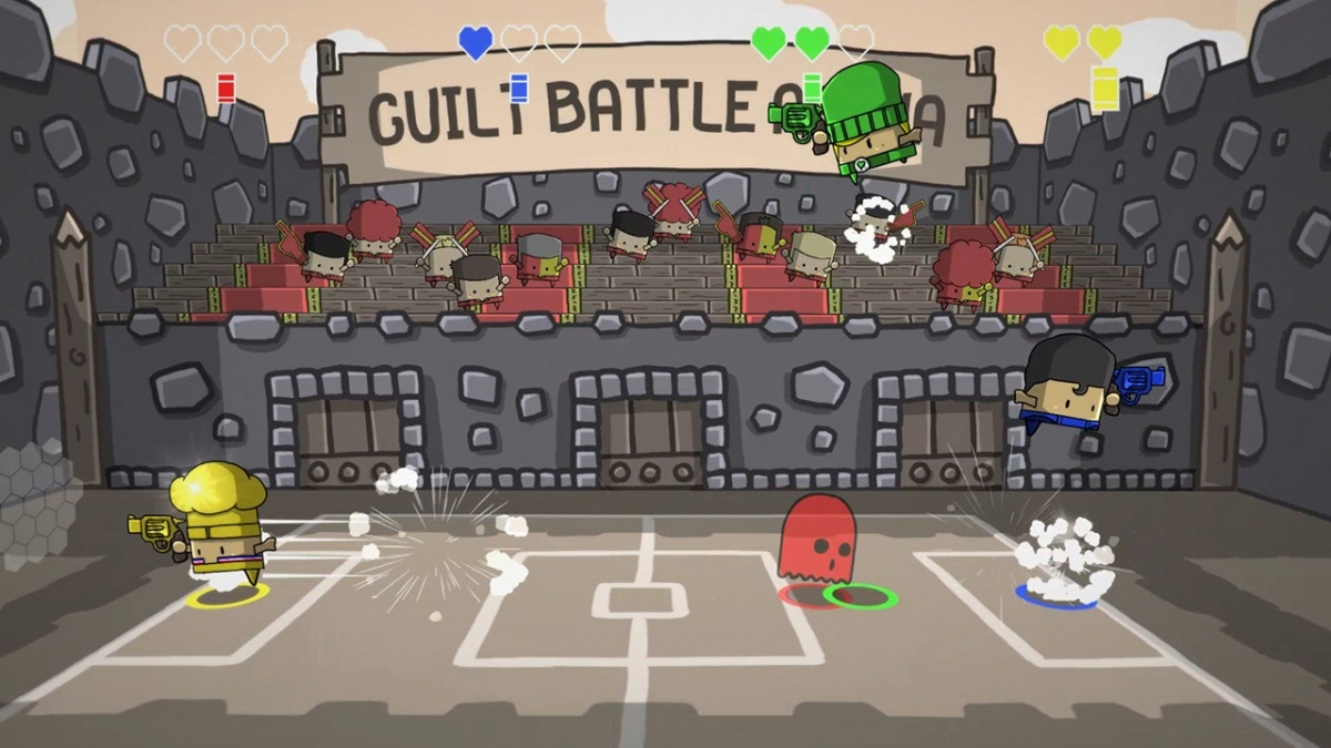 Screenshot for Guilt Battle Arena on Nintendo Switch