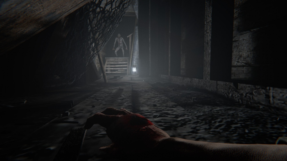Screenshot for Outlast 2 on Nintendo Switch