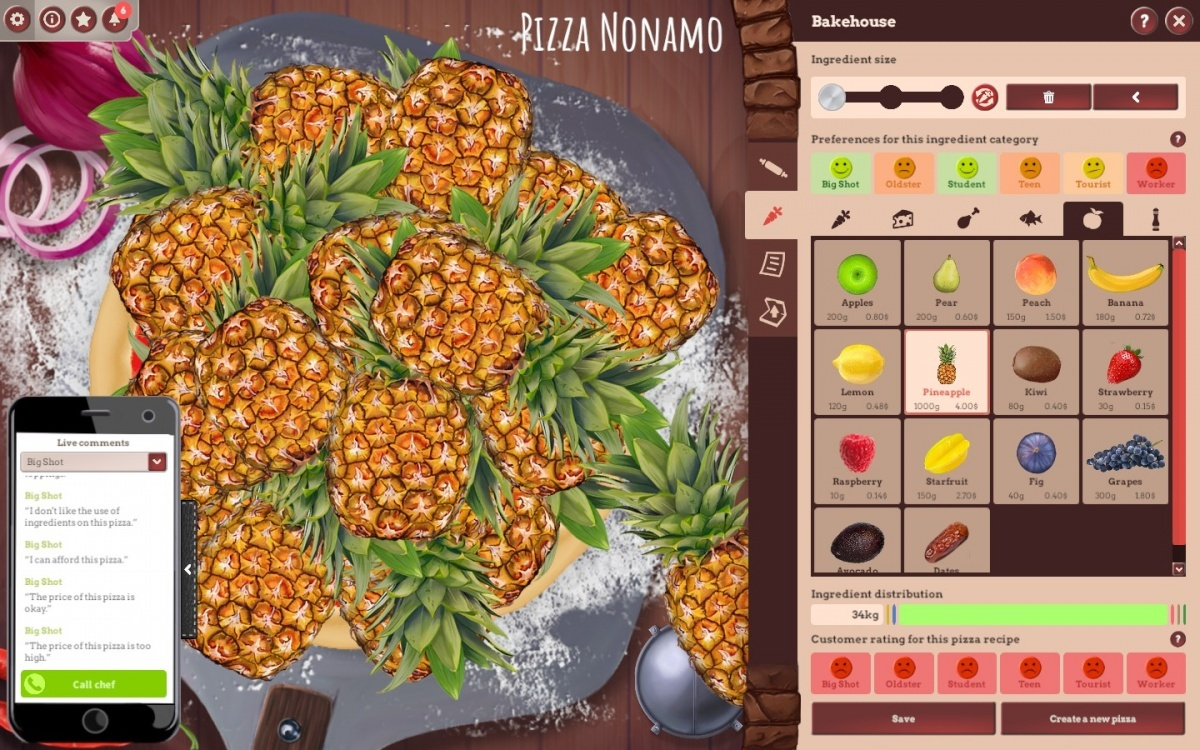 Screenshot for Pizza Connection 3 on PC