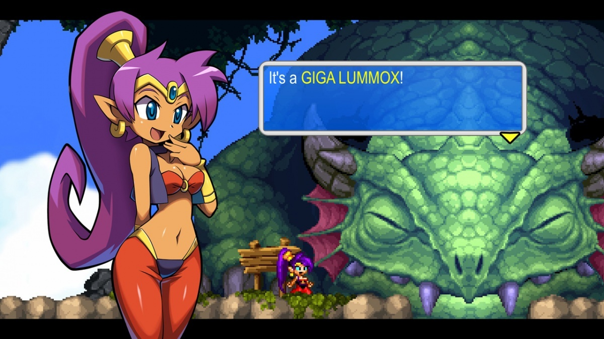 Shantae and the Pirate's Curse Nintendo Switch Screens and Art