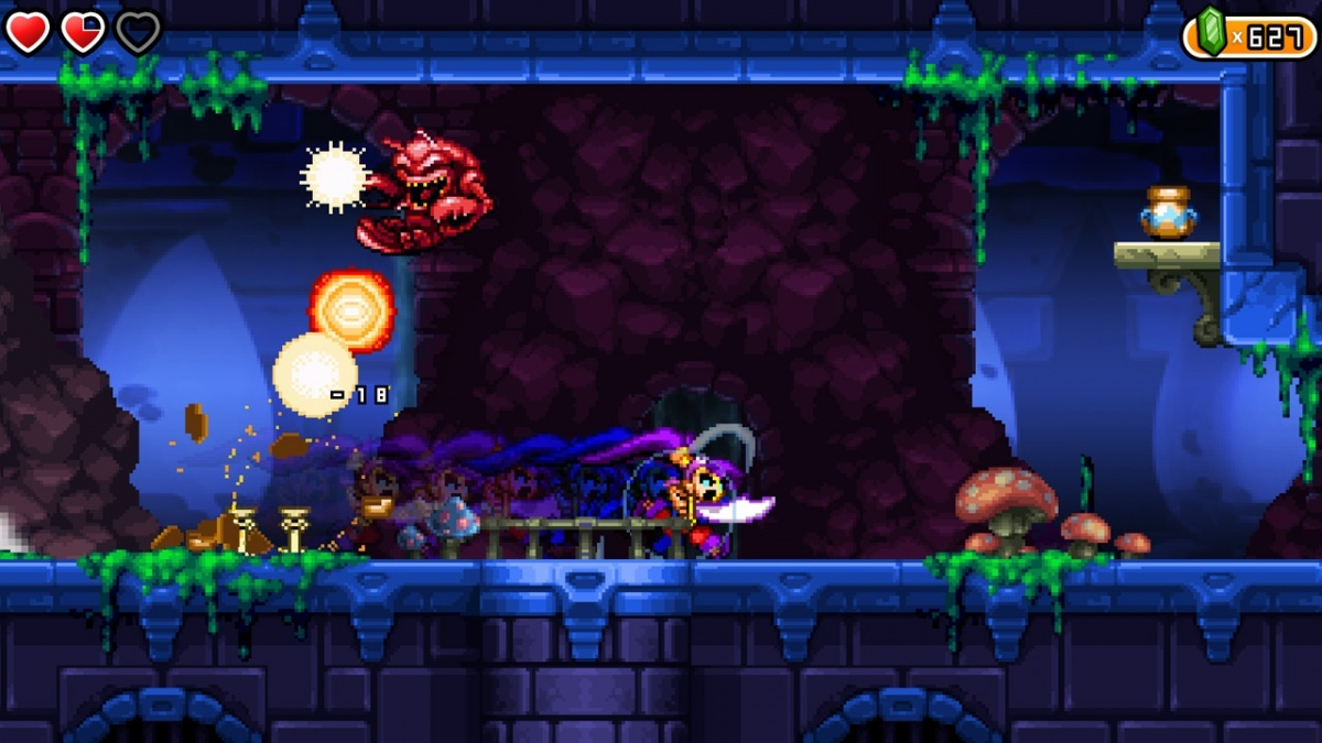 Shantae and the Pirate's Curse Nintendo Switch Screens and