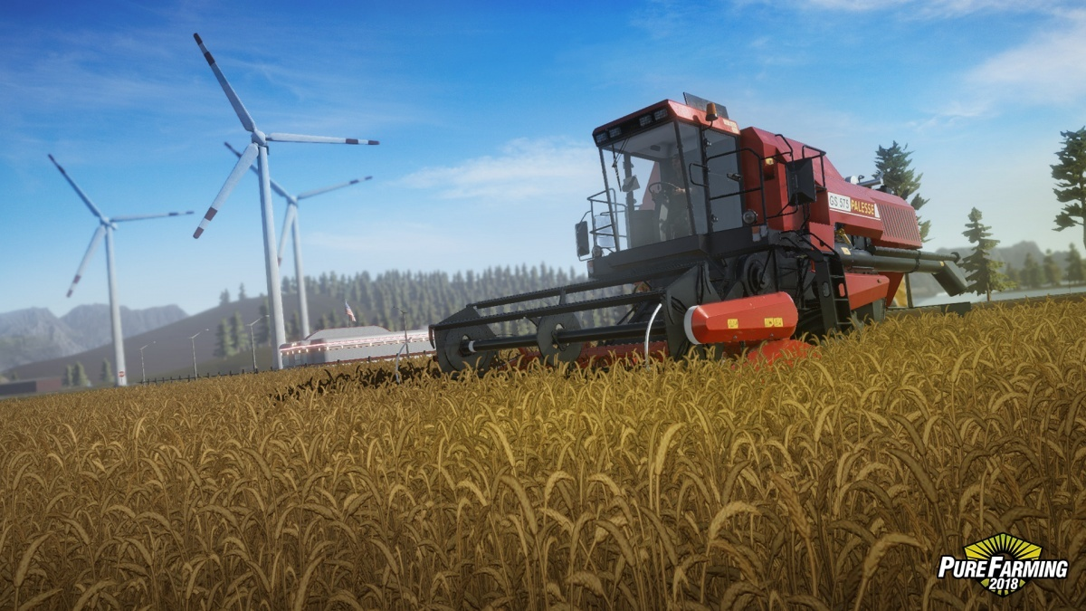 Screenshot for Pure Farming 2018 on PC