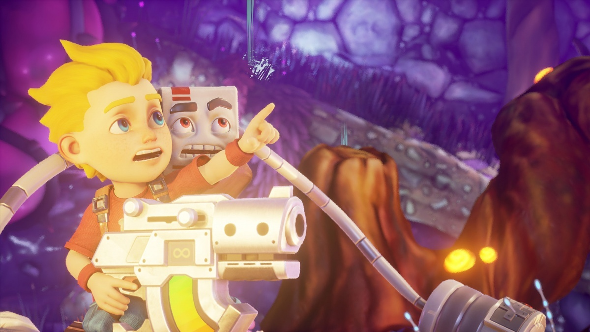 Screenshot for Rad Rodgers on PC