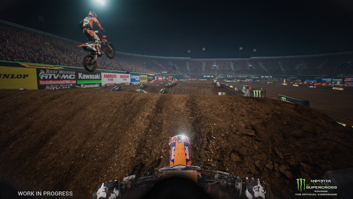 Screenshot for Monster Energy Supercross - The Official Videogame on PlayStation 4
