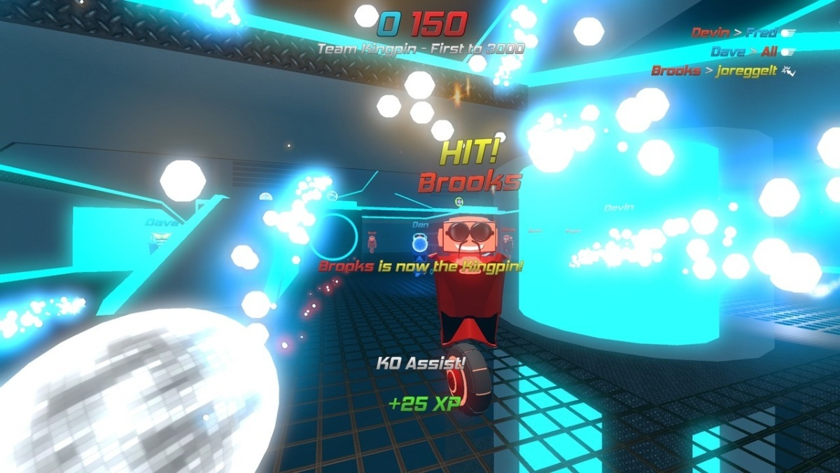 Screenshot for Disco Dodgeball Remix on PlayStation 4