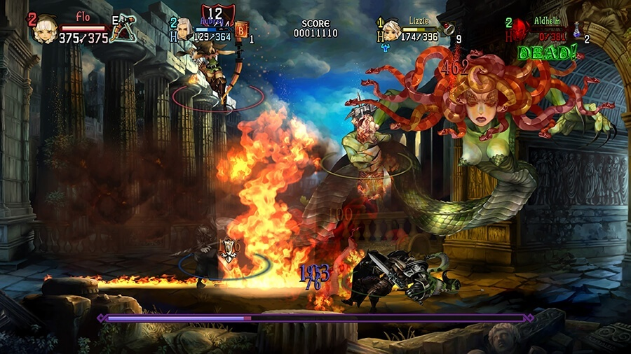 Screenshot for Dragon's Crown Pro on PlayStation 4