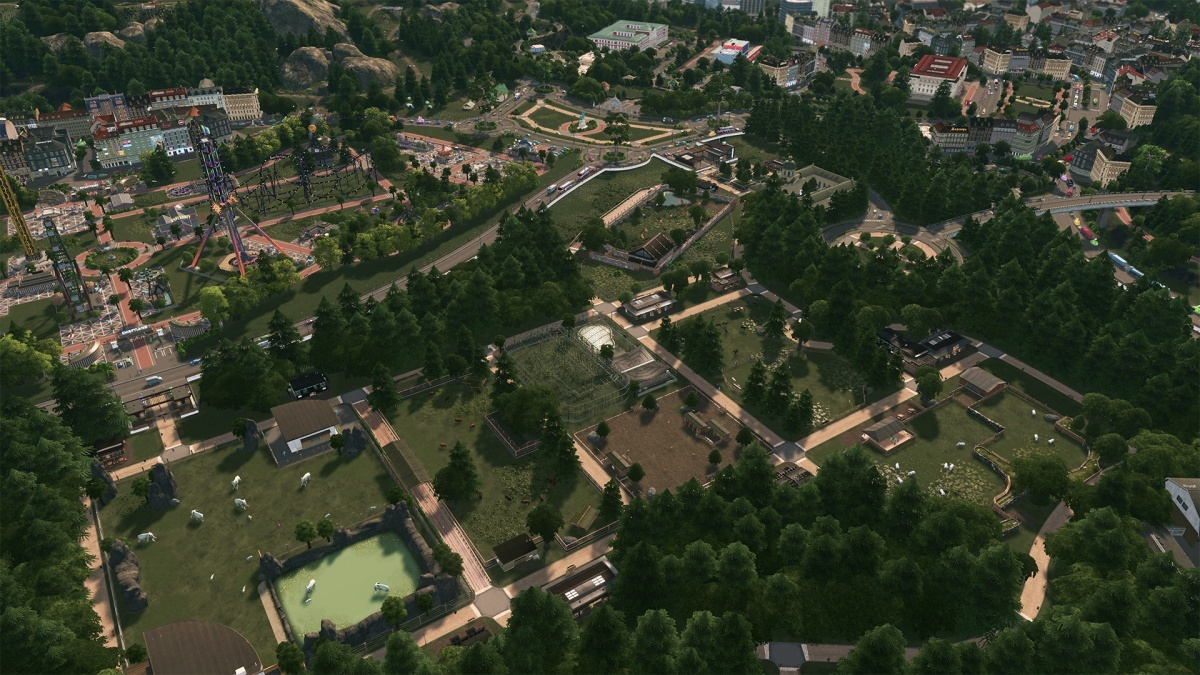 Screenshot for Cities: Skylines - Parklife on PC