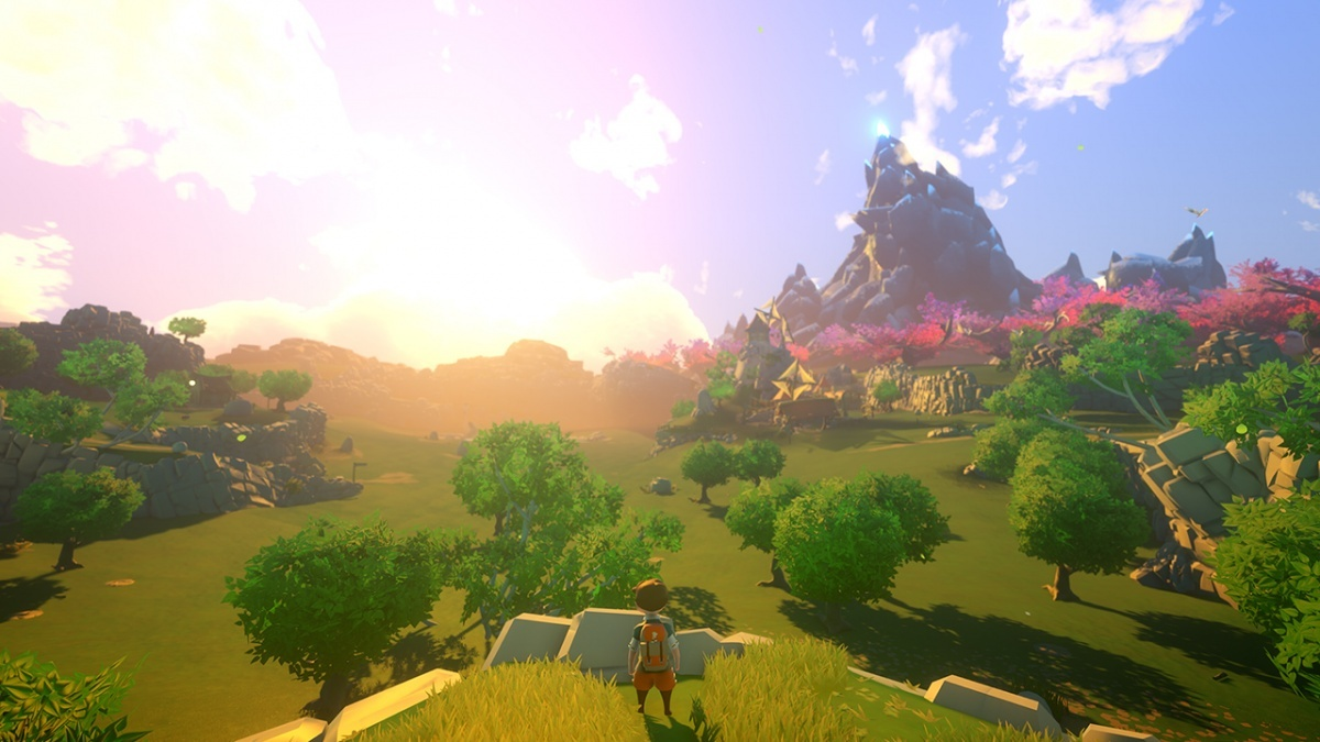 Screenshot for Yonder: The Cloud Catcher Chronicles on Nintendo Switch