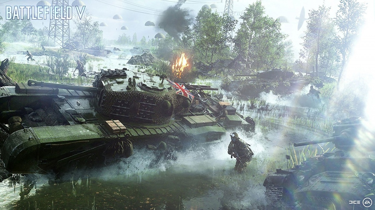 Screenshot for Battlefield V on PlayStation 4