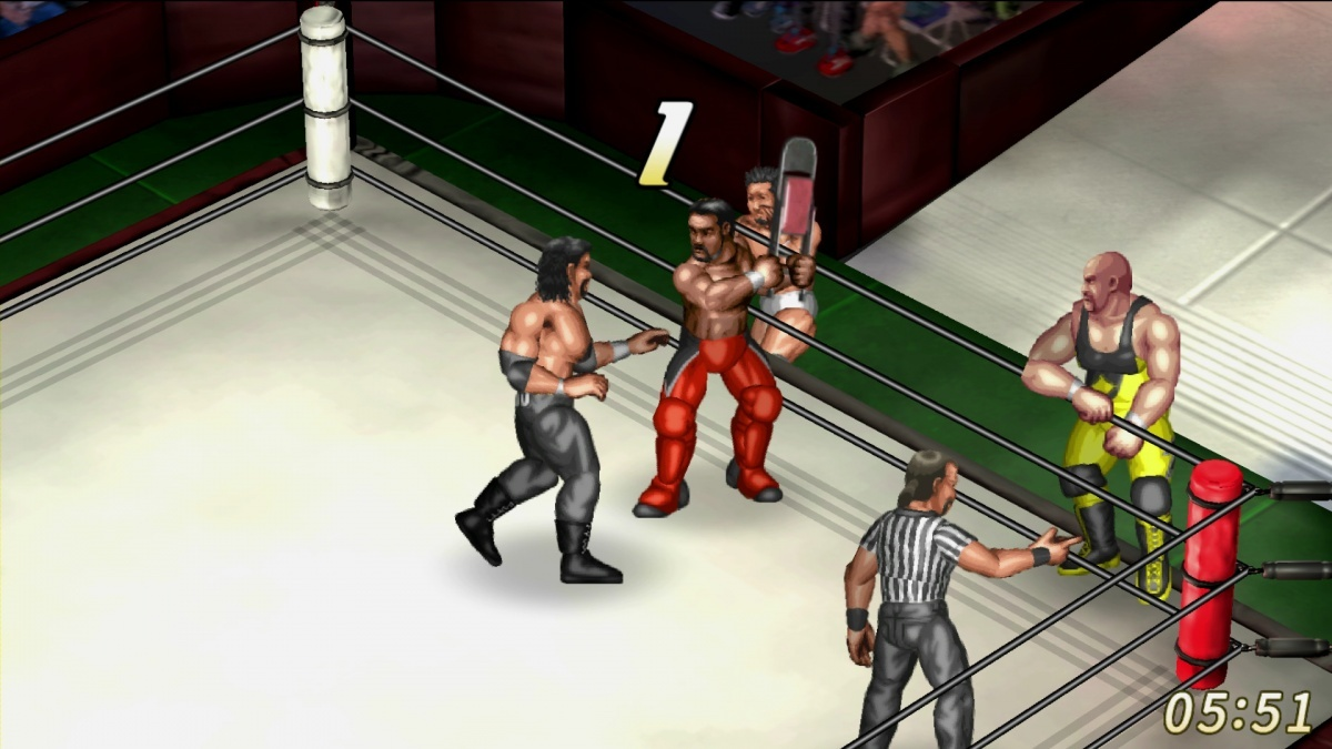 Screenshot for Fire Pro Wrestling World on PlayStation 4