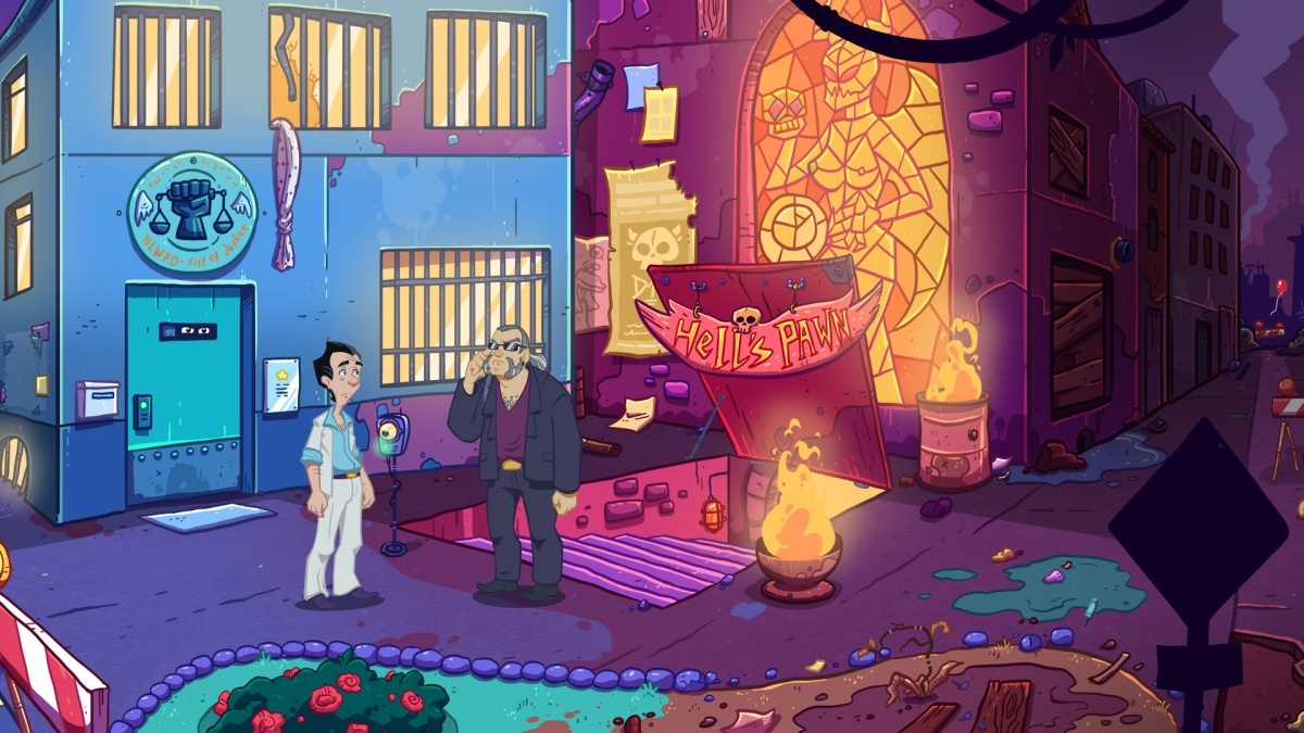 Screenshot for Leisure Suit Larry - Wet Dreams Don't Dry on PC