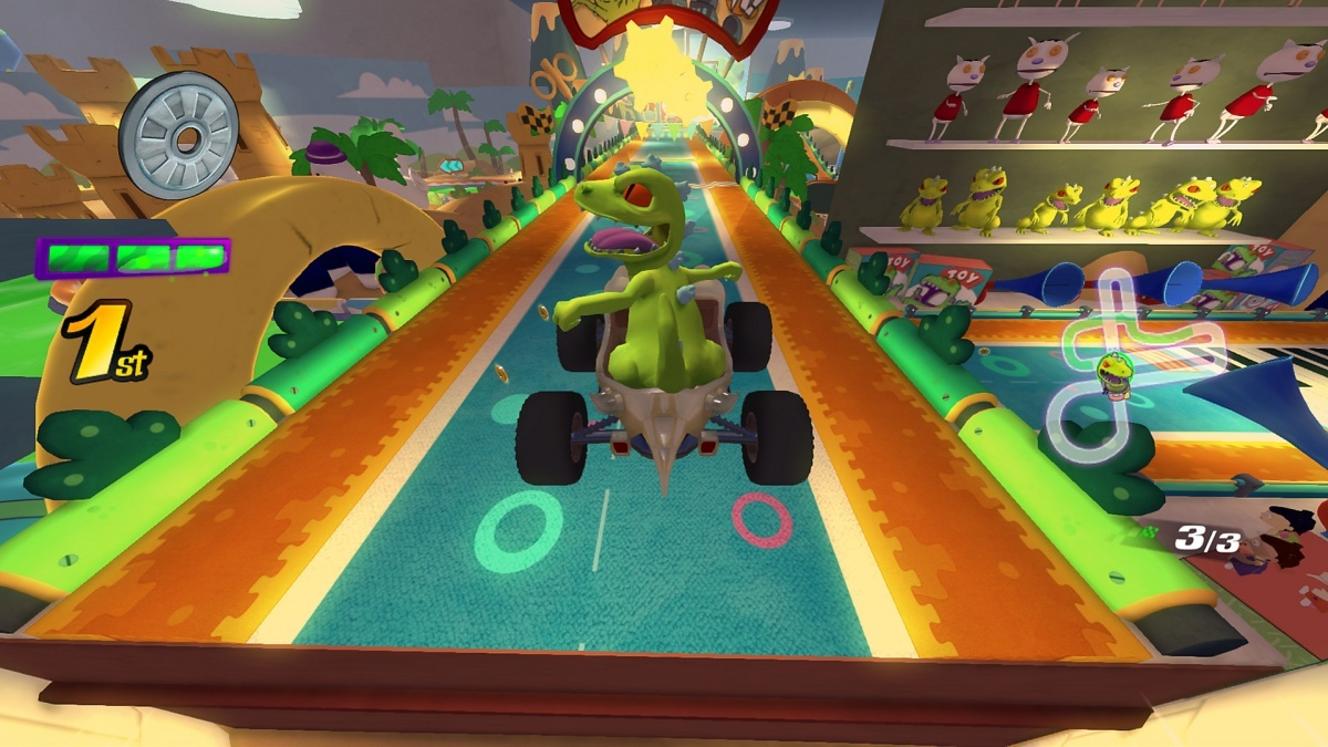 Screenshot for Nickelodeon Kart Racers on PlayStation 4