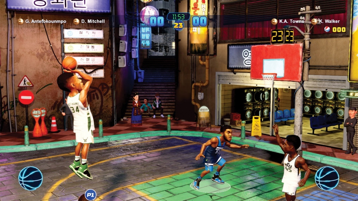 Screenshot for NBA 2K Playgrounds 2 on Nintendo Switch