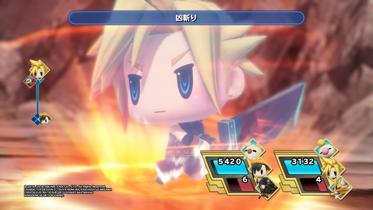 Screenshot for World of Final Fantasy Maxima on PlayStation 4