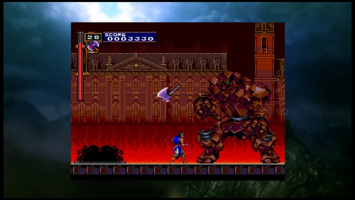 Screenshot for Castlevania Requiem: Symphony of the Night & Rondo of Blood on PlayStation 4