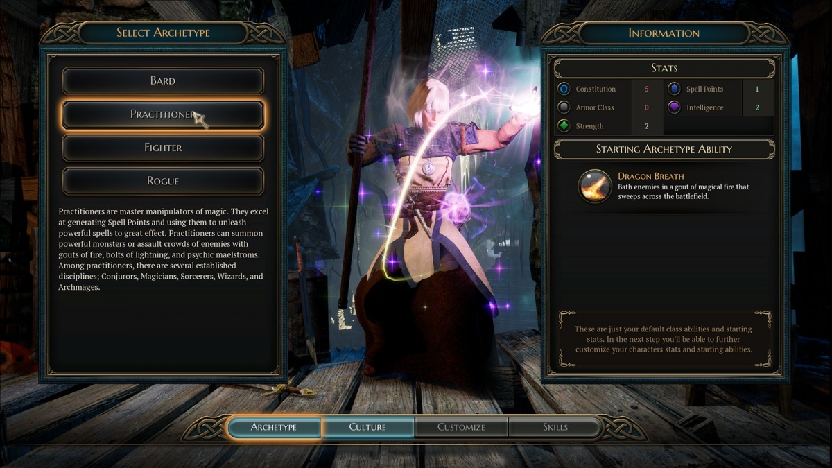 Screenshot for The Bard's Tale IV: Barrows Deep on PC