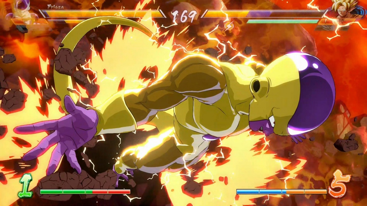 Screenshot for Dragon Ball FighterZ on Nintendo Switch