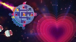 Screenshot for Lovers in a Dangerous Spacetime - click to enlarge