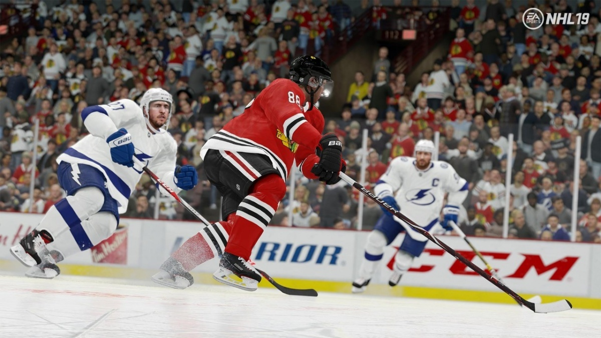 Screenshot for NHL 19 on Xbox One