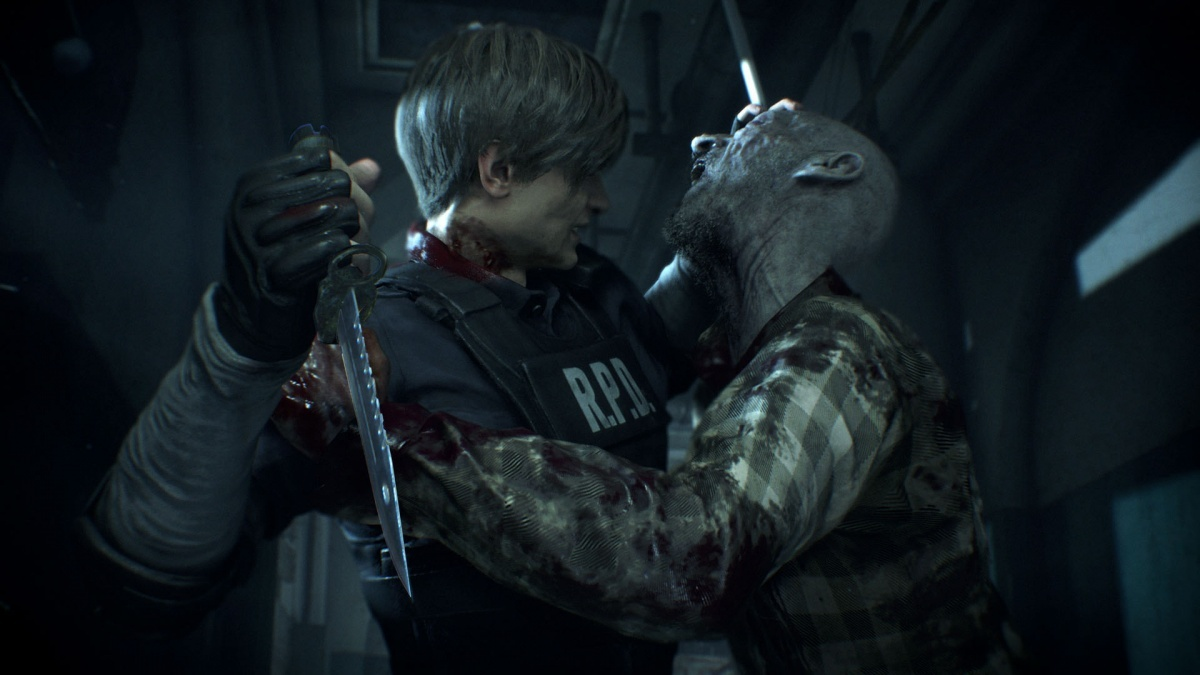 Screenshot for Resident Evil 2 on PlayStation 4