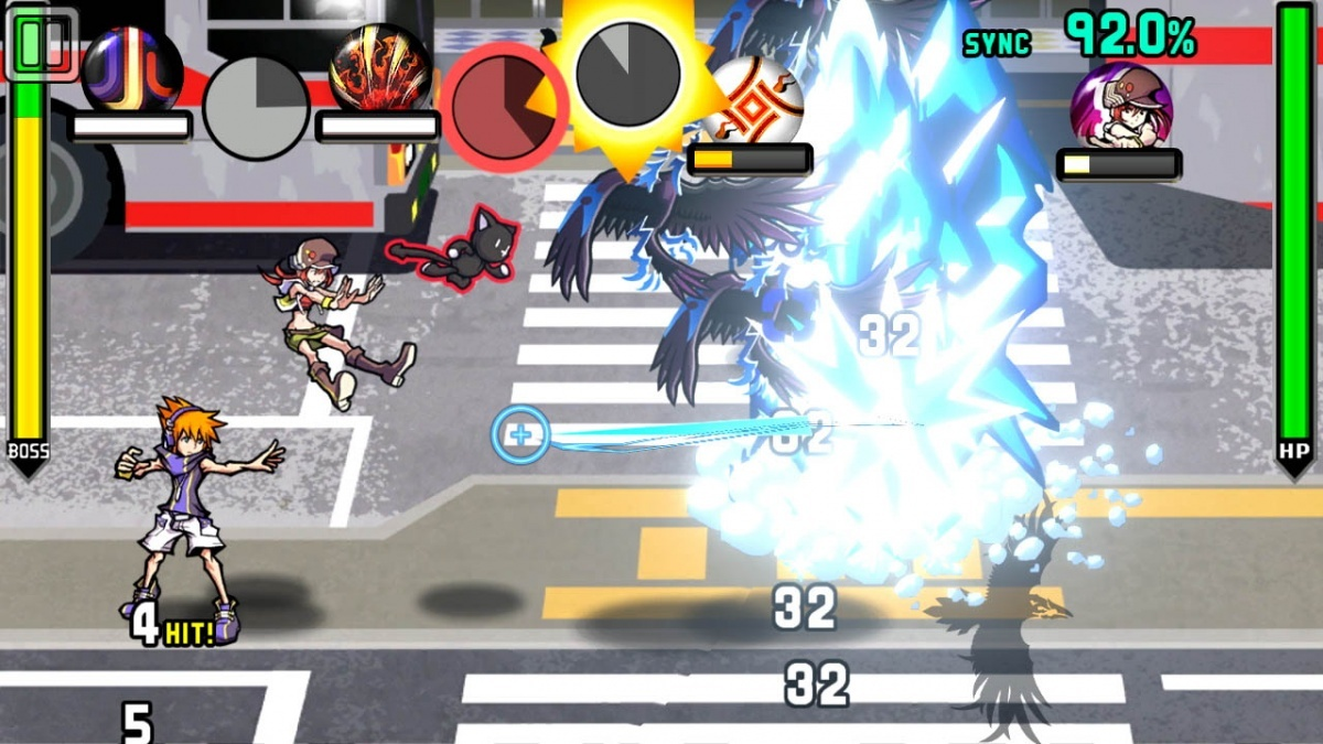 Screenshot for The World Ends with You: Final Remix on Nintendo Switch