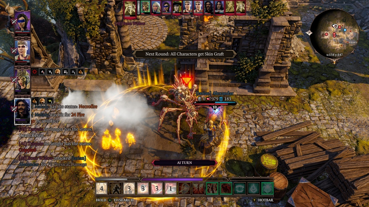 Screenshot for Divinity: Original Sin II - Definitive Edition on PlayStation 4
