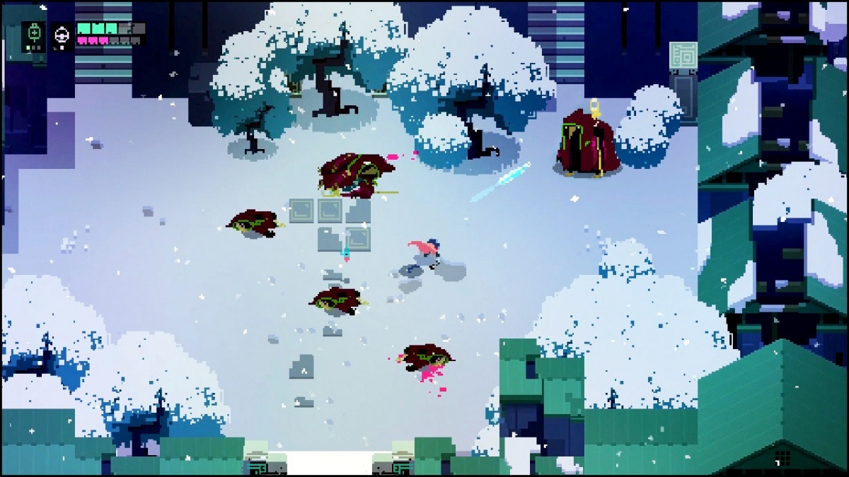 Screenshot for Hyper Light Drifter: Special Edition on Nintendo Switch