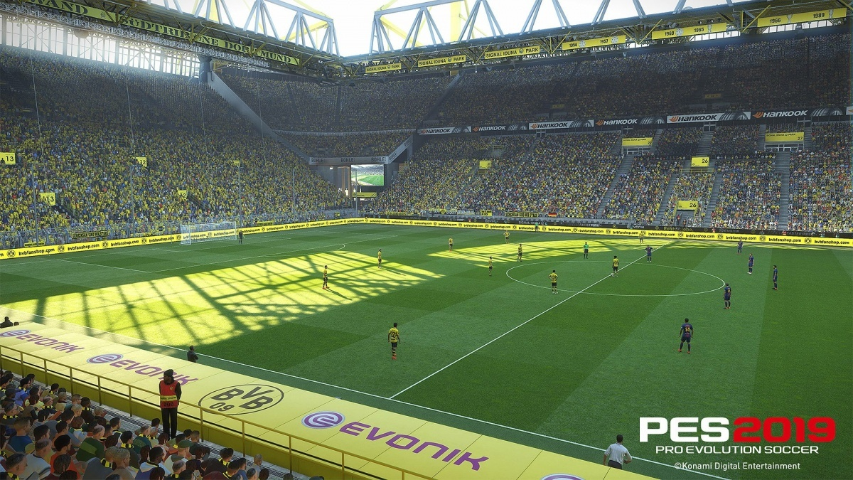 Screenshot for Pro Evolution Soccer 2019 on PC