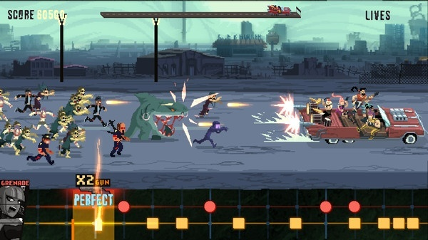 Screenshot for Double Kick Heroes on PC