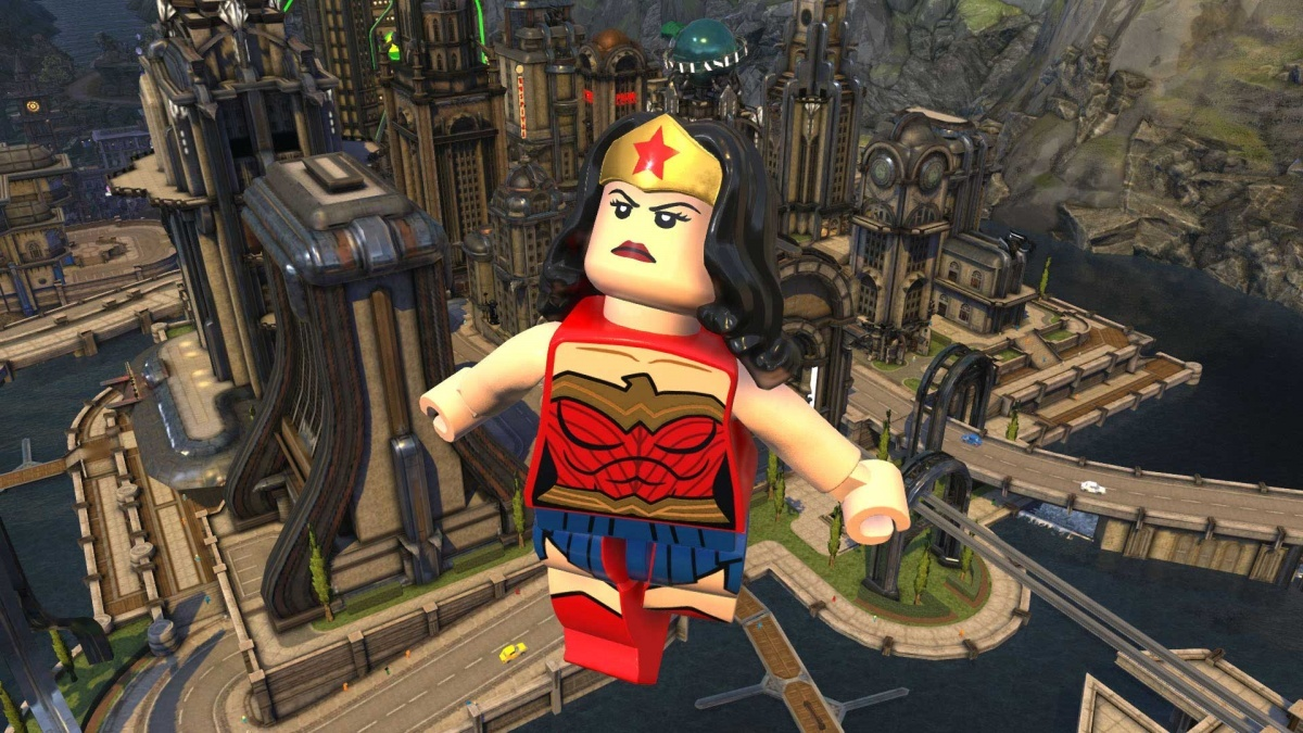 Screenshot for LEGO DC Super-Villains on Xbox One