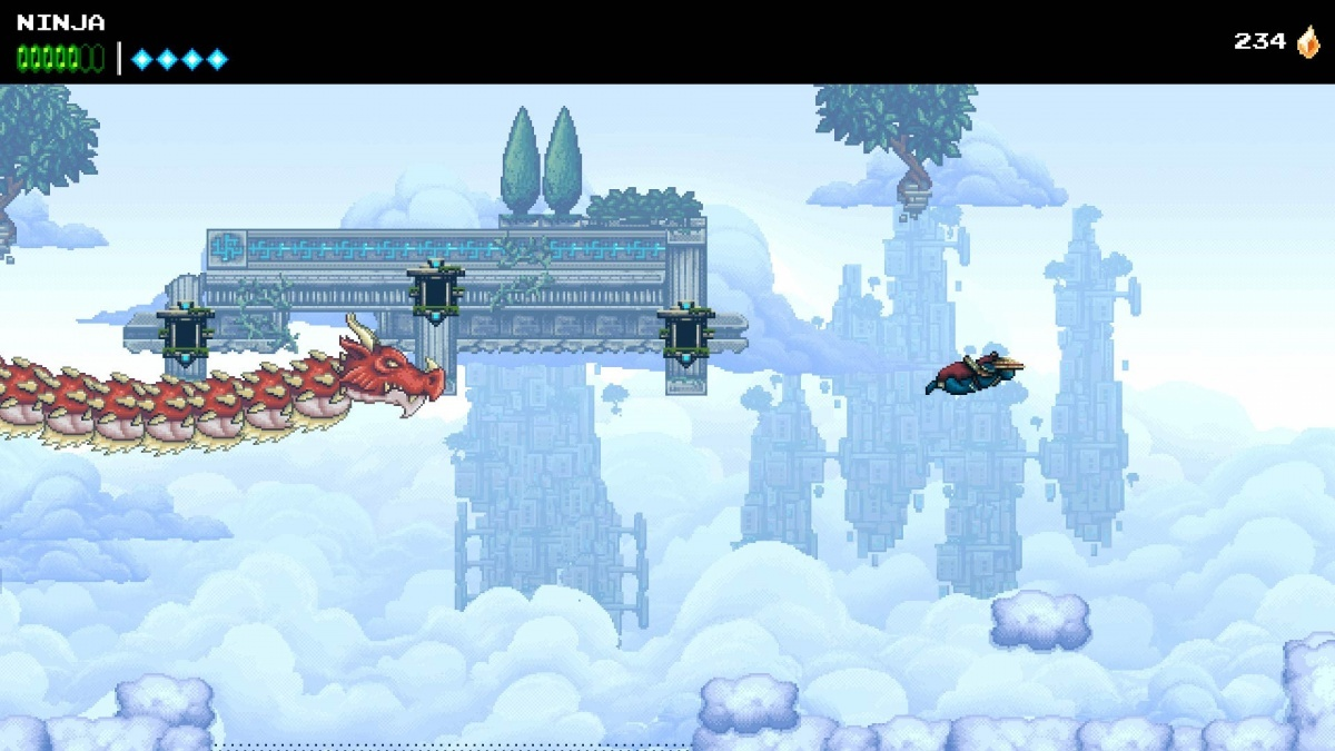 Screenshot for The Messenger on PlayStation 4