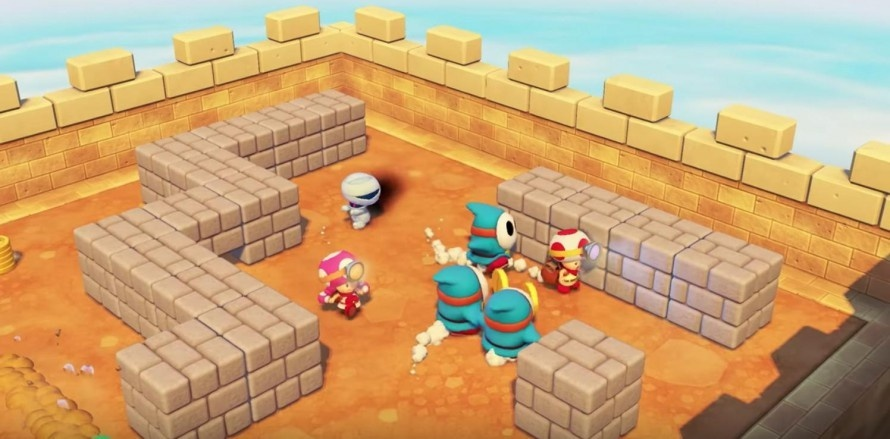 Screenshot for Captain Toad: Treasure Tracker - Special Episode on Nintendo Switch