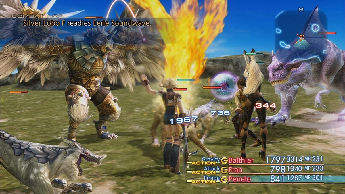 Screenshot for Final Fantasy XII: The Zodiac Age on Nintendo Switch